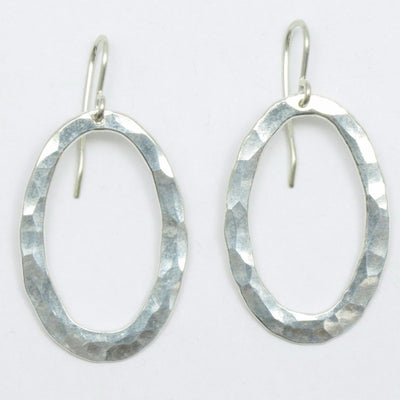 Oval Hoop Pirori Earrings