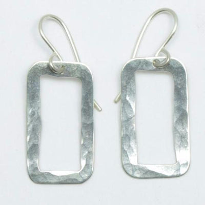 Small Rectangle Pirori earrings