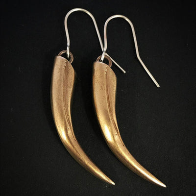 Huia Beak Earrings
