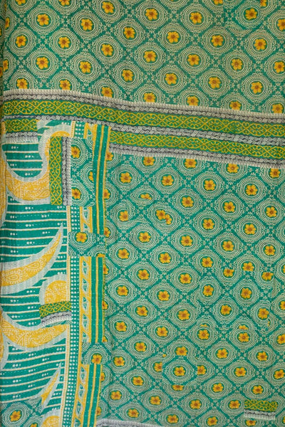 Journey No. 1 Kantha Large Throw