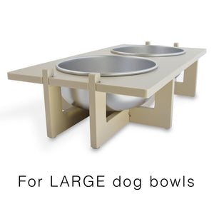 Rise Pet Bowl Stand for Large Bowls, Main Image
