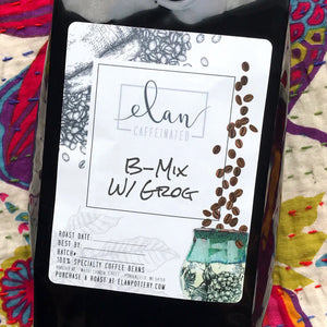 B-Mix w/ Grog - 14 oz bag - Flavored Coffee