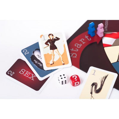 Tease - Tie and Tease Couple Board Game Games Singapore