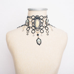 Virgin Mary Baroque Choker