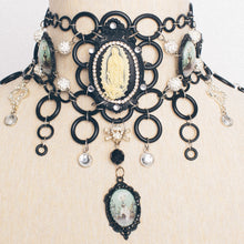 Load image into Gallery viewer, Virgin Mary Baroque Choker