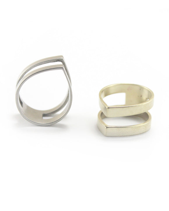 Minimal Independent Spirit Ring | Adriana Neves