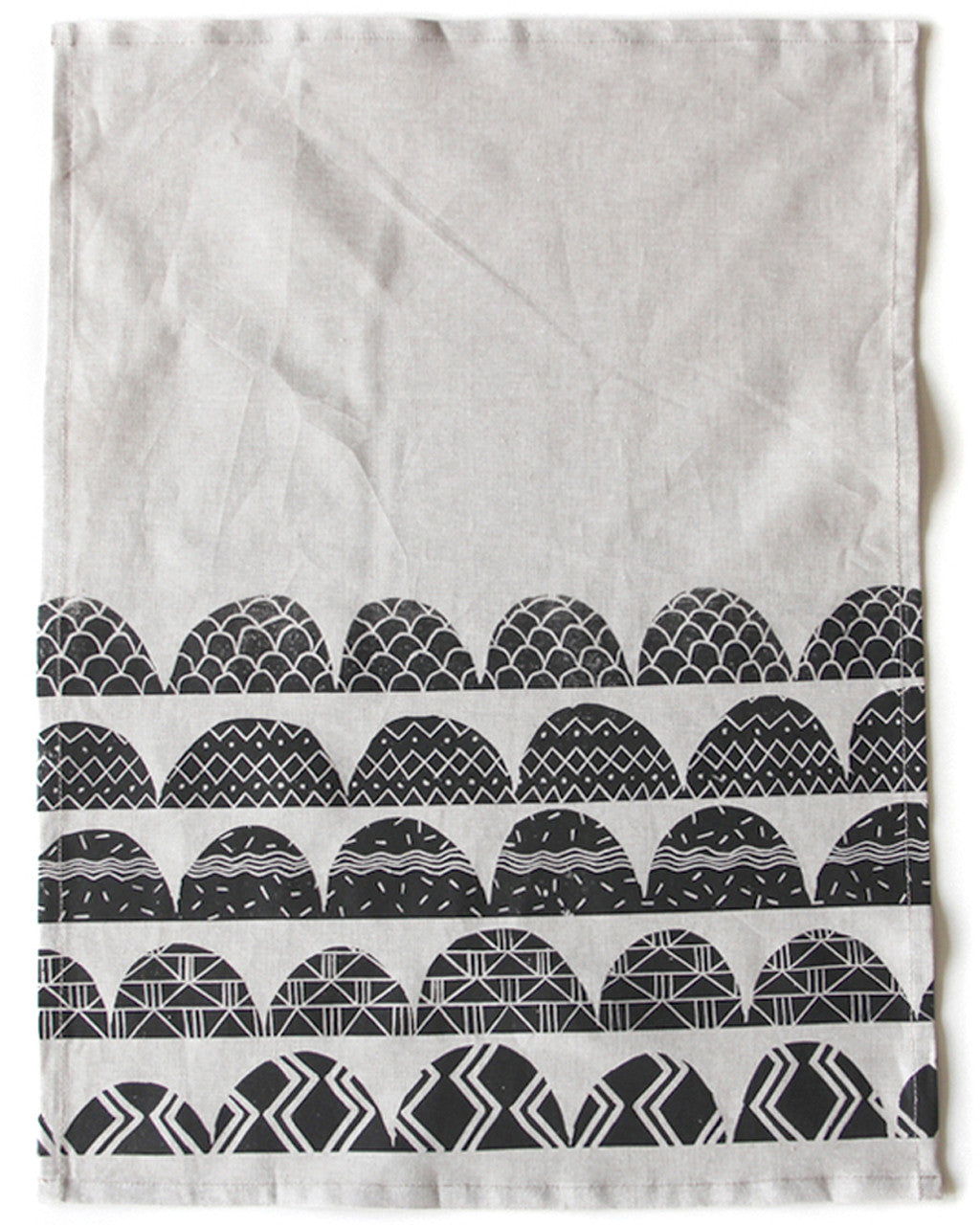Patterned Arches Tea Towel | Amelie Mancini