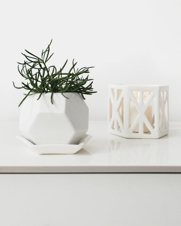 Faceted Planter | Convivial Production