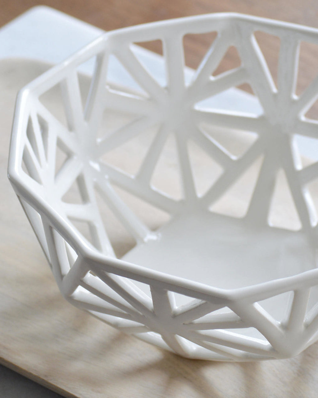Geodesic Countertop Fruit Bowl | Convivial Production