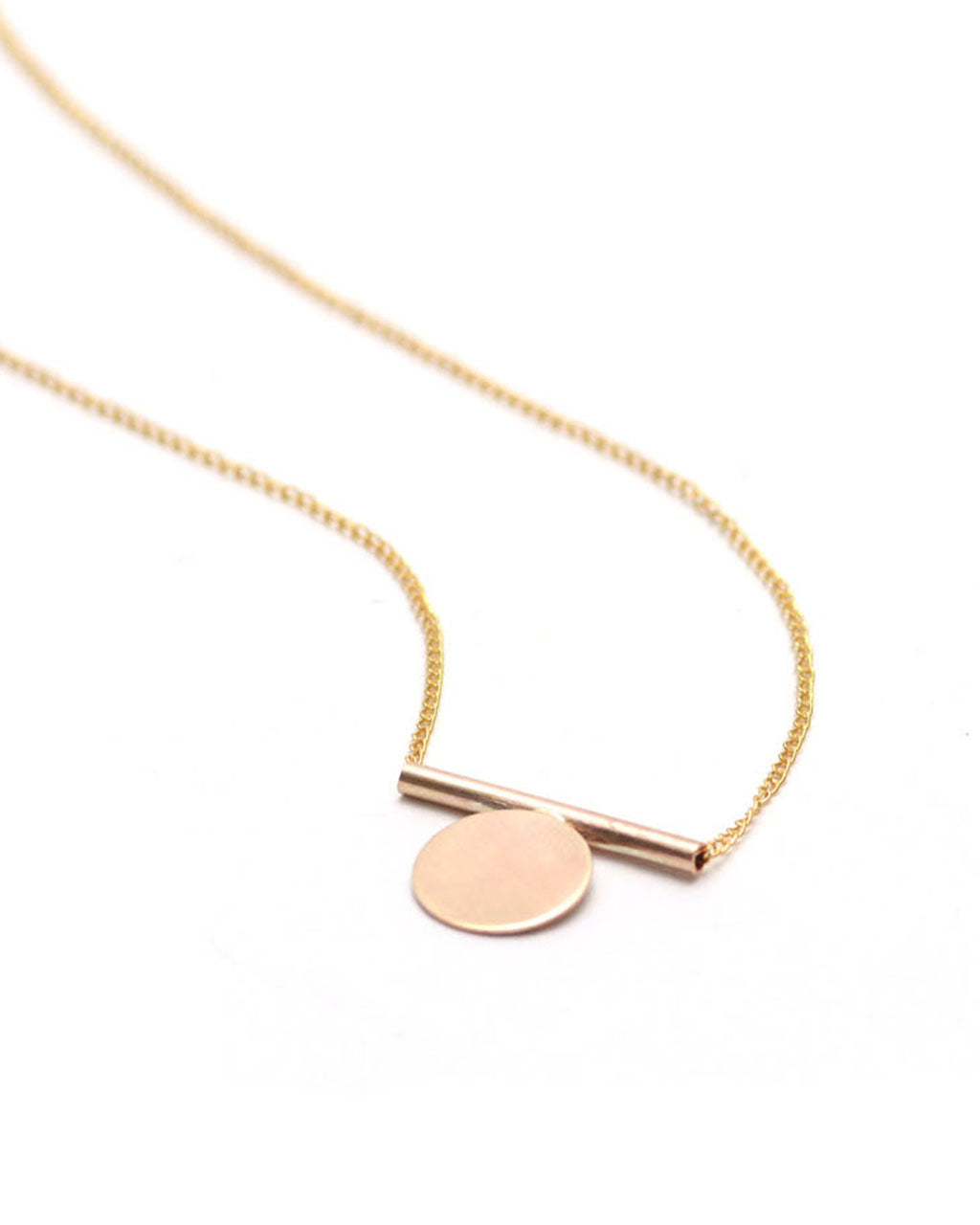 Minimal Mono Necklace | Favor Jewelry