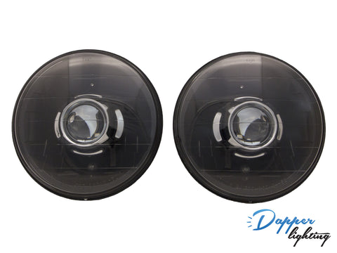 "Dapper Lighting 7"" Black Classic V1"