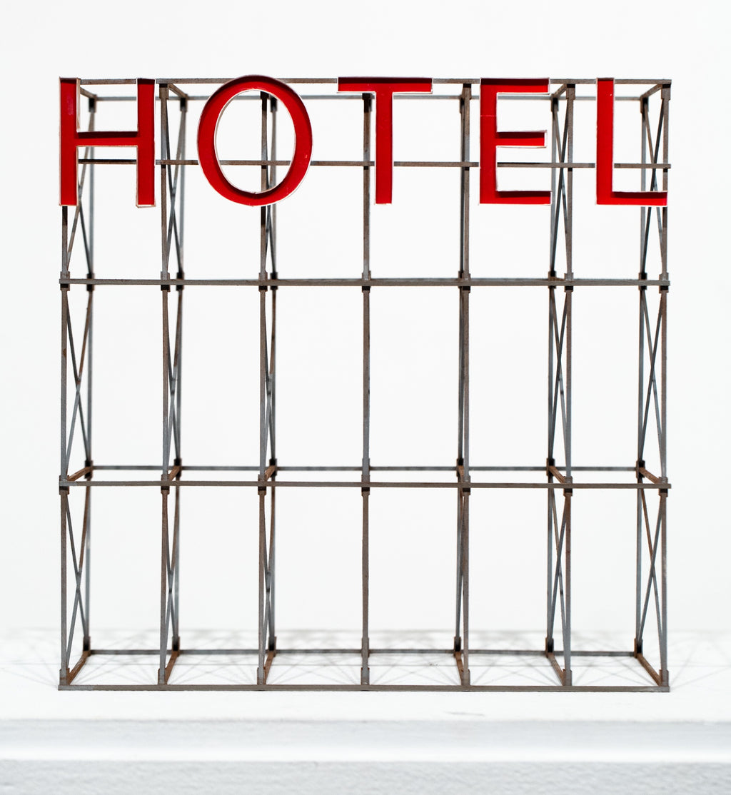 Hotel Sign (red)