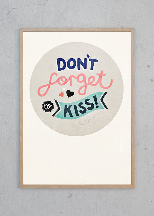 Don't Forget To Kiss fra Michelle Carlslund