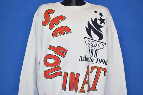 90s See You In Atlanta 1996 Olympics Sweatshirt 2XL
