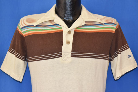 80s Ocean Pacific Surfer Polo Shirt Small