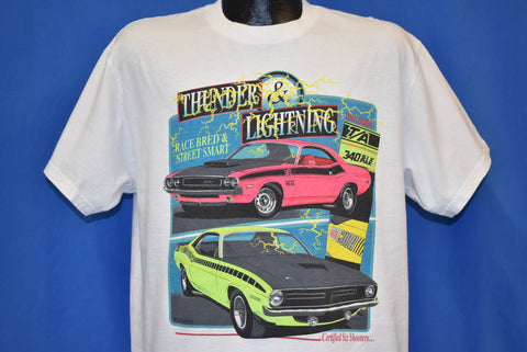 90s Dodge Challenger Plymouth Barracuda Six Pak t-shirt Medium