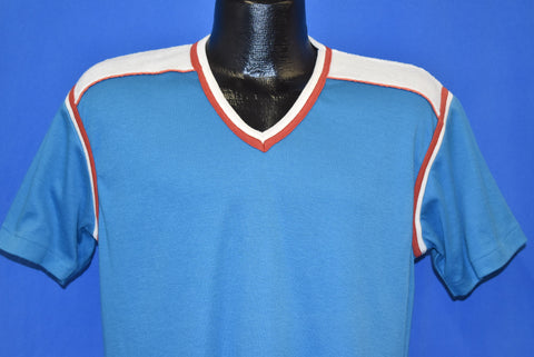 80s Robert Bruce V-Neck t-shirt Large