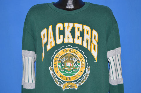 90s Green Bay Packers NFL Members Sweatshirt Extra Large