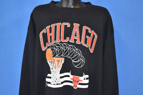 90s Chicago Bulls NBA Sweatshirt 2XL