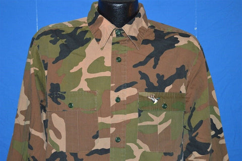 90s Winchester Camouflage Hunting shirt Medium