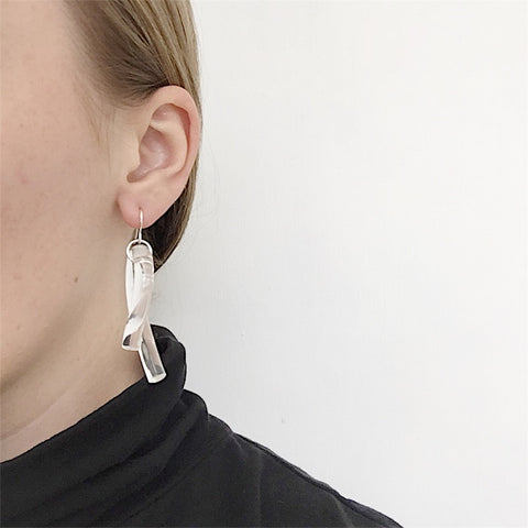 Johan - Corey Moranis Loop Earrings - Portland, Oregon