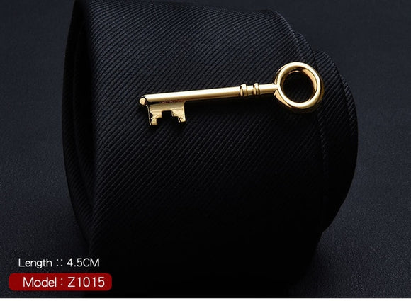 Cute Golden Key Ty Clip