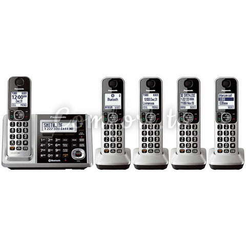 Panasonic® Kx-Tg175C Dect 6.0 Digital Phone System, 4 phones