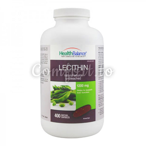 Canada Health Balance Soy Lecithin 1200 mg, 400 softgel