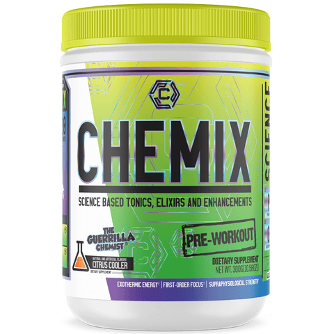 CHEMIX PRE WORKOUT (40 SERVINGS) + CHEMIX INTRA WORKOUT W/ FREE TANK TOP (STACK)