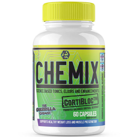Image of CHEMIX PRE WORKOUT (40 SERVINGS) + KING OF PUMPS + CORTIBLOC (STACK W/ FREE LIMITED EDITION SHAKER CUP AND E BOOK)