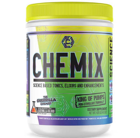 Image of CHEMIX PRE WORKOUT (40 SERVINGS) + KING OF PUMPS (STACK W/ FREE SHAKER, TANK TOP, AND E BOOK)
