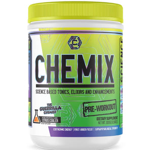 CHEMIX PRE WORKOUT (40 SERVINGS) + KING OF PUMPS (STACK W/ FREE SHAKER, TANK TOP, AND E BOOK)