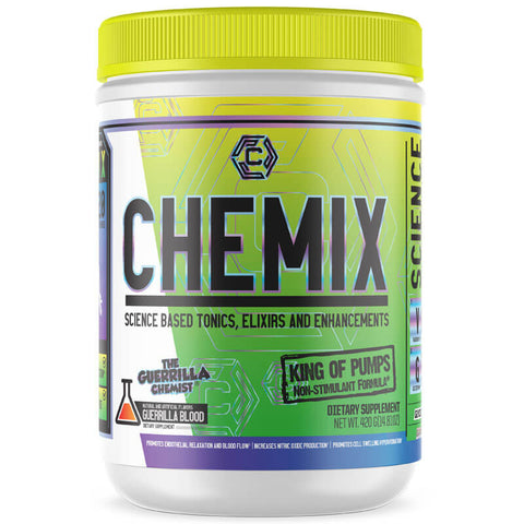 CHEMIX PRE WORKOUT (40 SERVINGS) + KING OF PUMPS + CORTIBLOC (STACK W/ FREE LIMITED EDITION SHAKER CUP AND E BOOK)