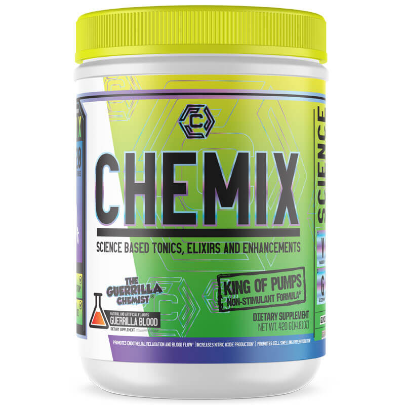 CHEMIX PRE WORKOUT (40 SERVINGS) + INTRA WORKOUT + KING OF PUMPS (STACK W/ FREE LIMITED EDITION CYCLONE CUP AND E BOOK)