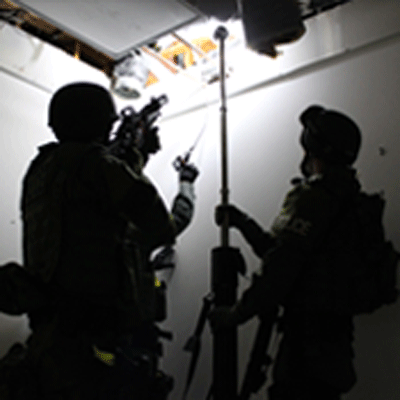 LED Shield Lights and Area Lights at Milipol Paris 2013