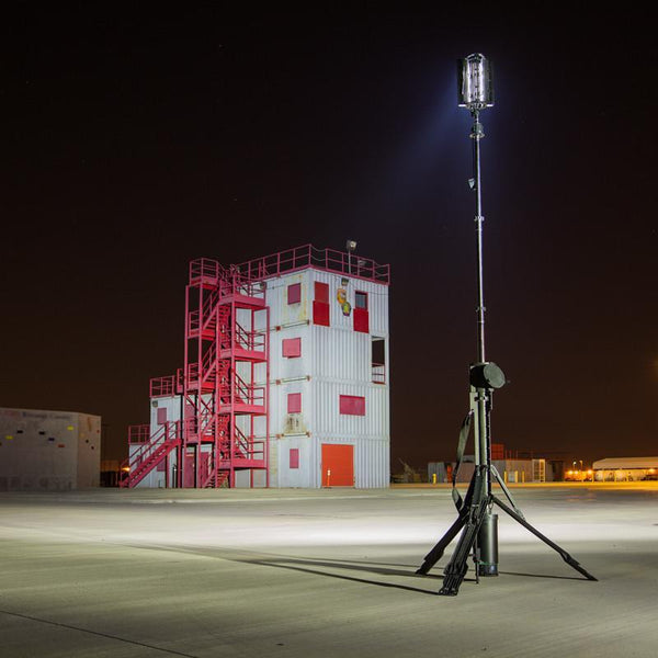 FoxFury Nomad® Transformer® Scene Light - Cordless and weatherproof light extends up to 12 feet (3.7 m) tall