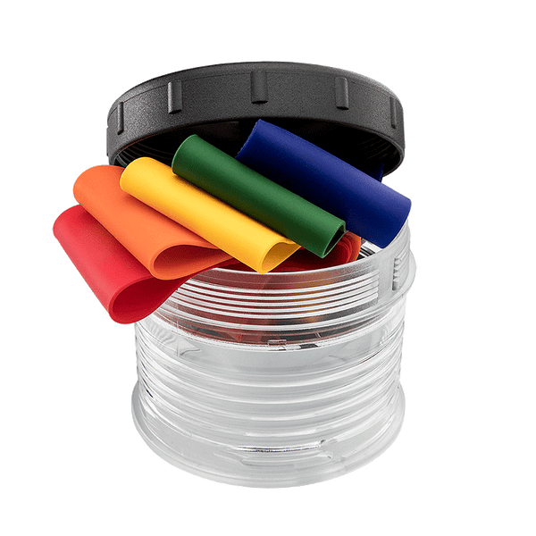 Color Bands for Nomad Prime & P56 - Shown with the Diffuser Cap