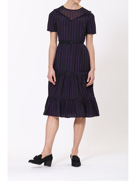 Jemma Dress- Navy-Dress-Leggsington