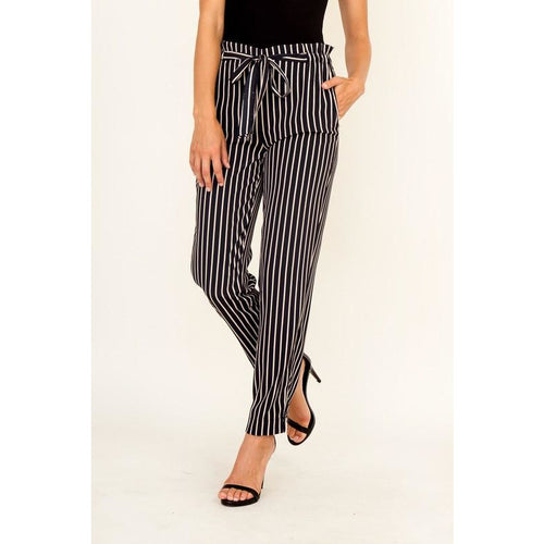 Pinstriped Cropped Pants New2You LX