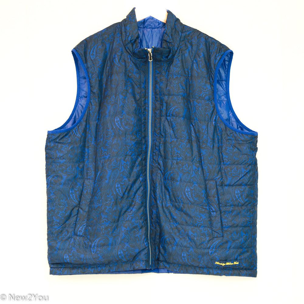 The Lagoon Blue Vest (Robert Graham) - New2Youlx