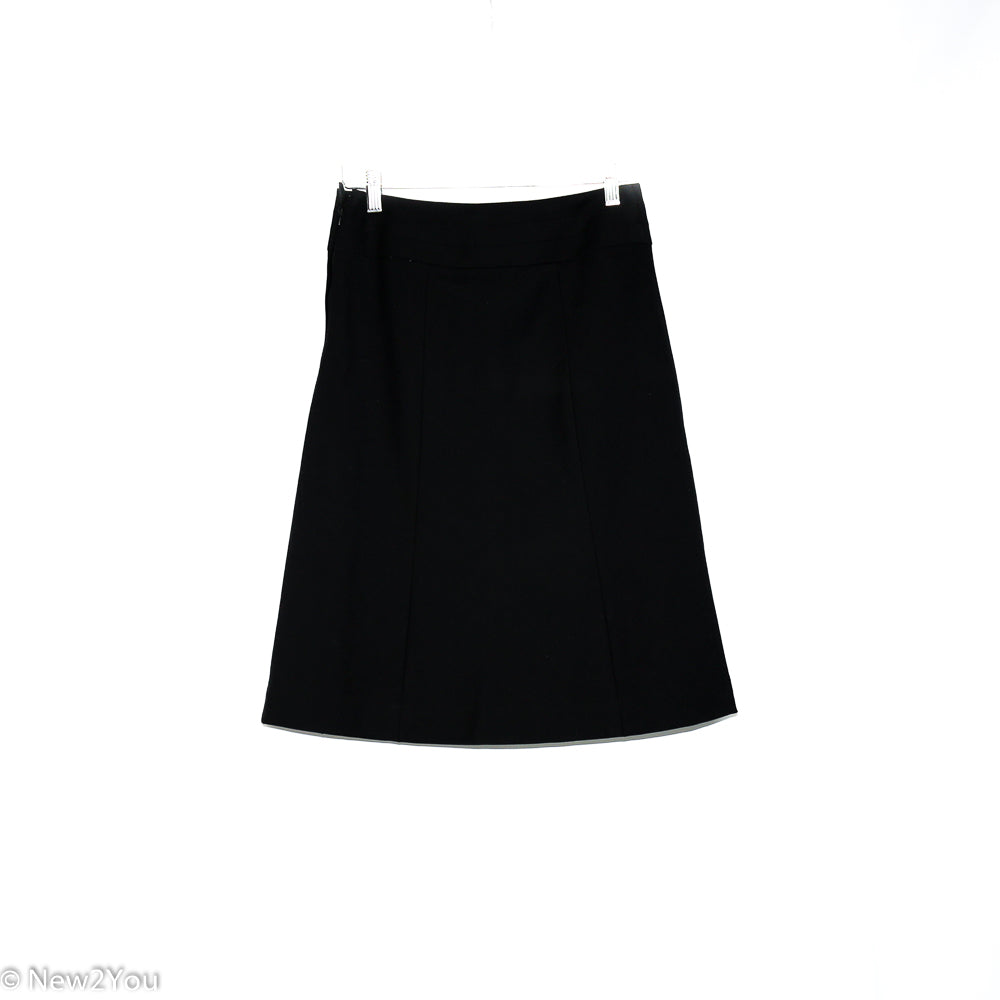 Black A-Line Skirt (H&M) - New2You Lx