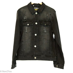 Men's Black Jacket - Riot Control Jacket (Caliber Denim Co.) - New2Youlx