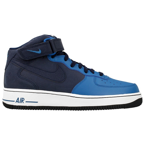 Nike Air Force 1 Mid `07 Obsidian Blue Black