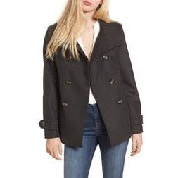 Double Breasted Peacoat (Thread & Supply) - New2Youlx