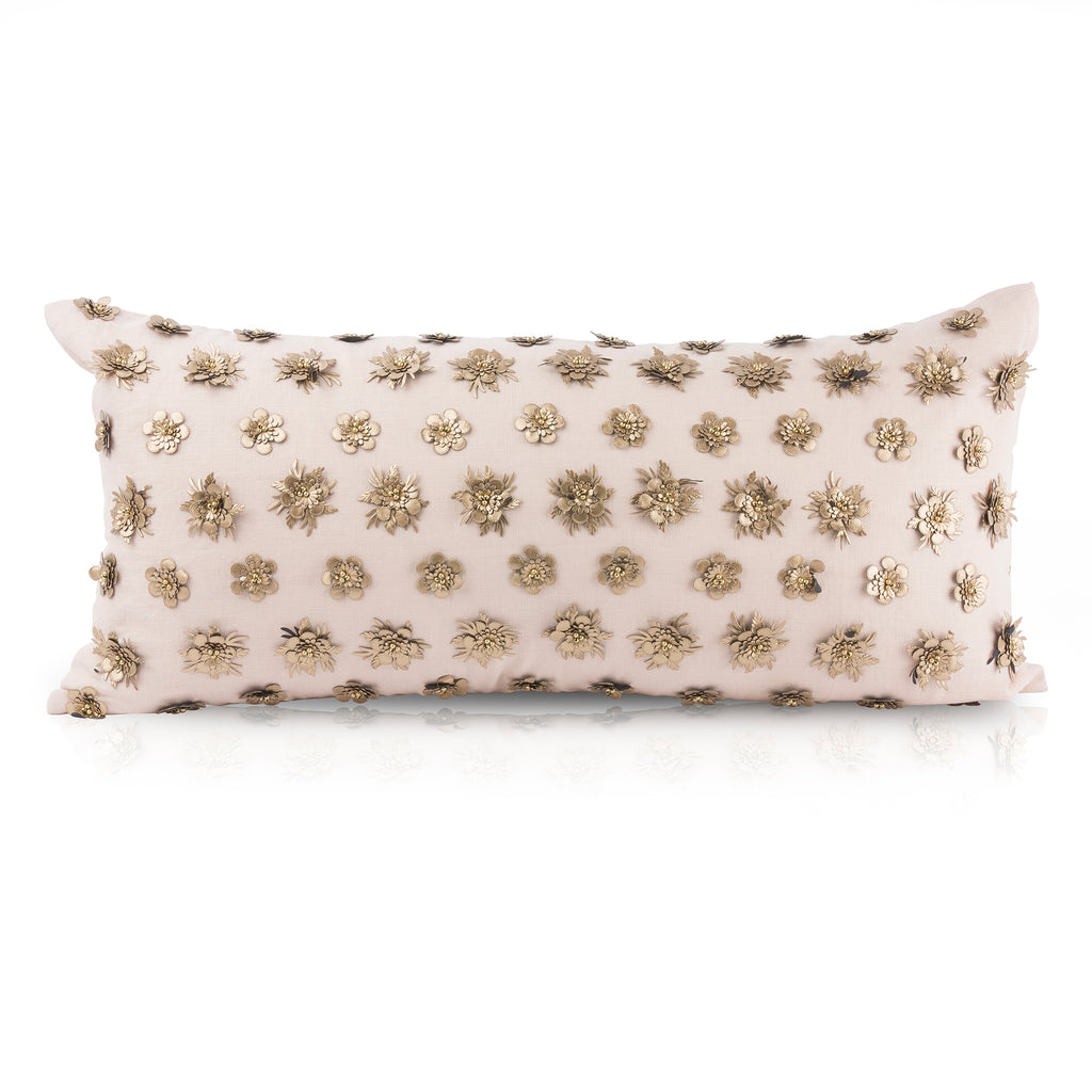 Pyar&Co. Kalyinann, Blush Pillow Lummbar