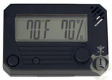 HygroSet Rectangle Digital Hygrometers - DHYG-RECT - Cigar Manor