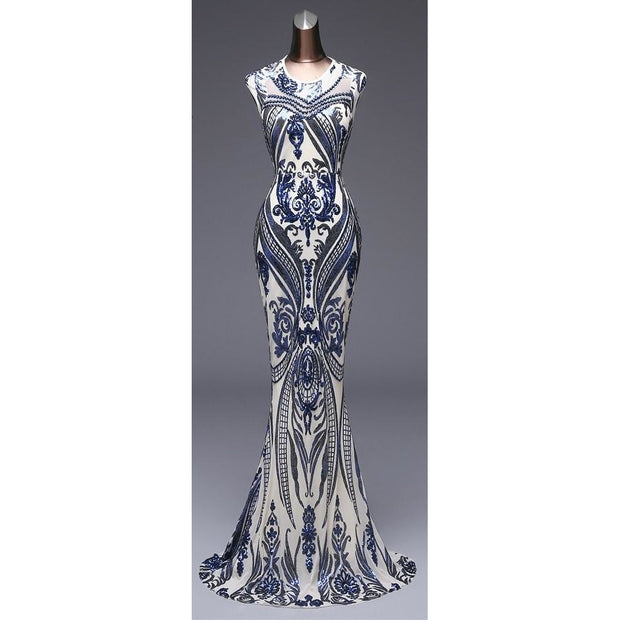 Art deco gown