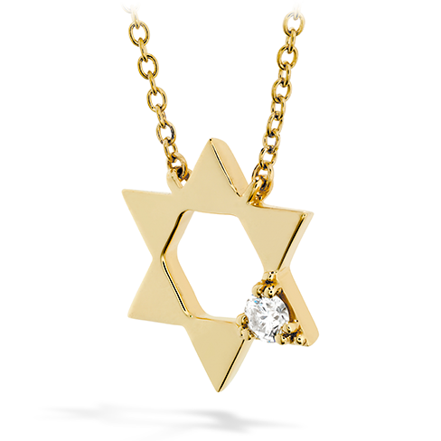 Hearts On Fire Virtuous Single Diamond Pendant Necklace