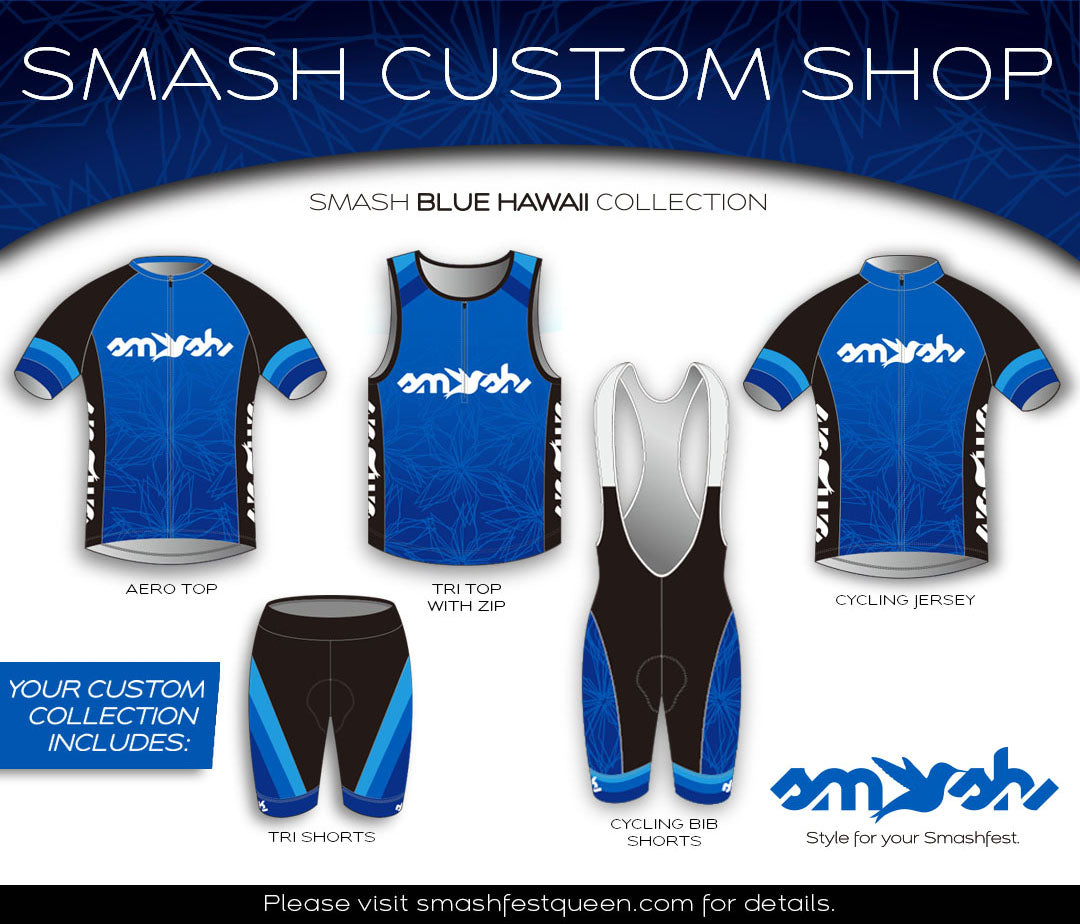 Blue Hawaii for Men Custom Four-Piece Collection
