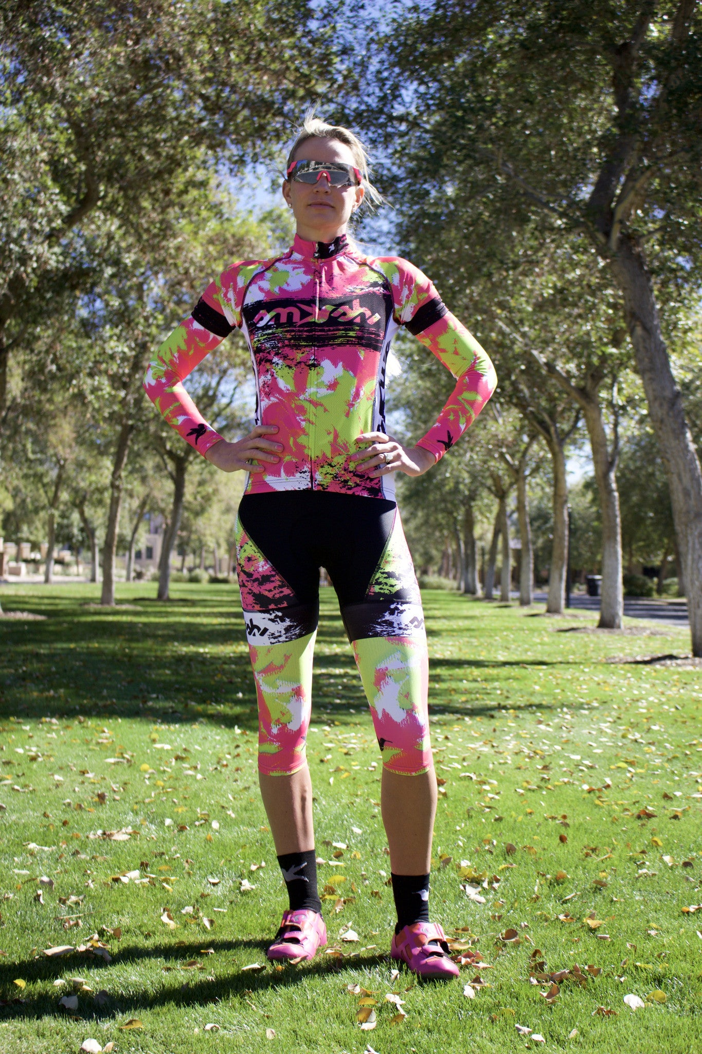 Lemmon Lime Knee Warmers *FINAL SALE*